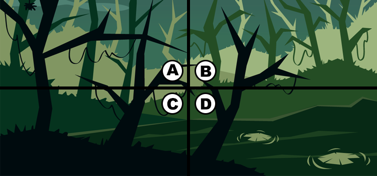 Q 23. CAN YOU SPOT THE FROG?