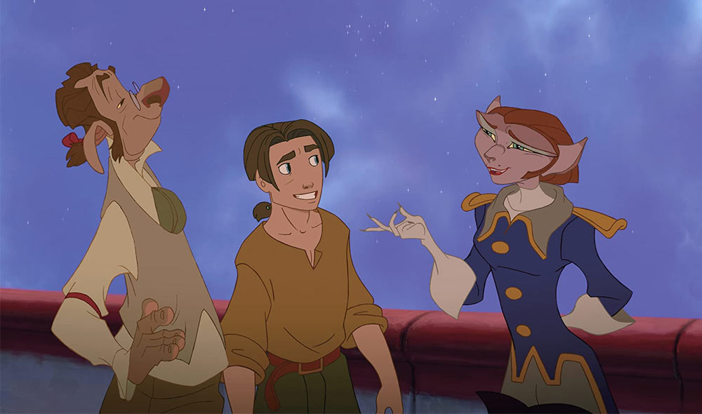 Q 4. WHAT DISNEY MOVIE IS THIS FROM?